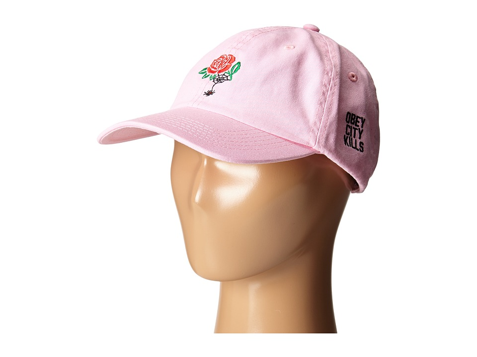 Obey - City Kills Hat (Dusty Pink) Caps