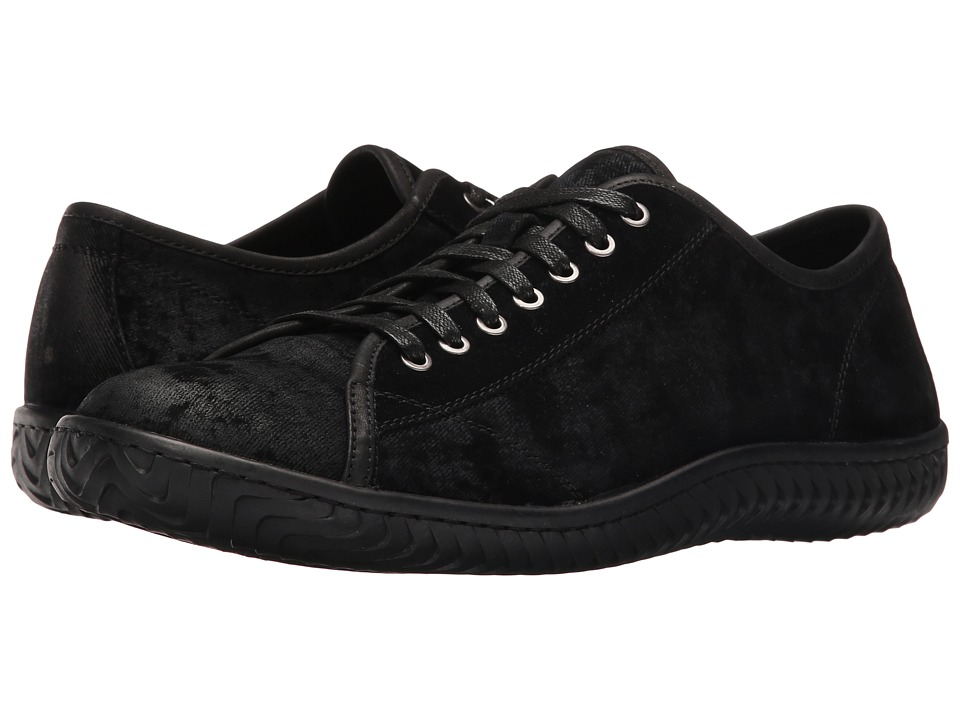 John Varvatos - Hattan Low Top (Black 1) Men's Lace up casual Shoes