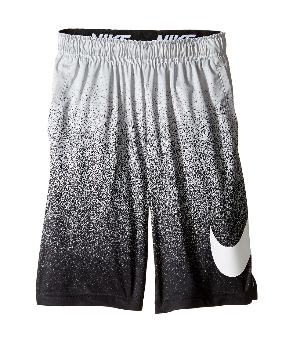 Nike Kids - Dry Training Short (Little Kids/Big Kids) (Wolf Grey/White/White) Boy's Shorts