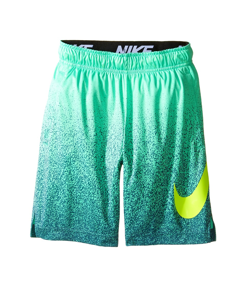 Nike Kids - Dry Training Short (Little Kids/Big Kids) (Green Glow/Volt/Volt) Boy's Shorts