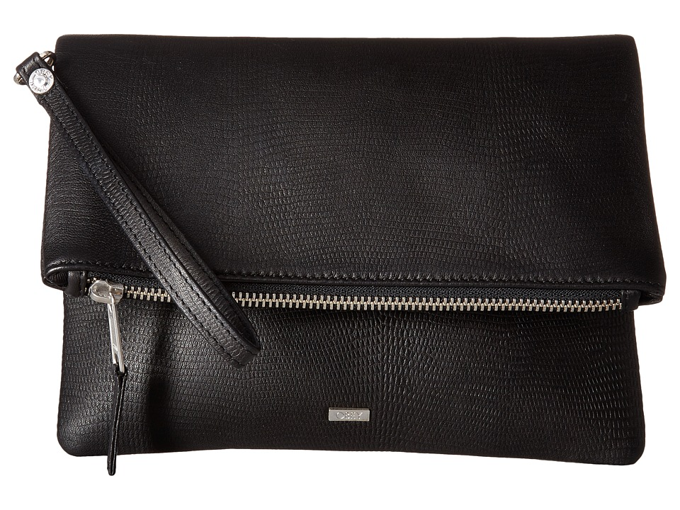 Obey - Jett Clutch (Black) Clutch Handbags