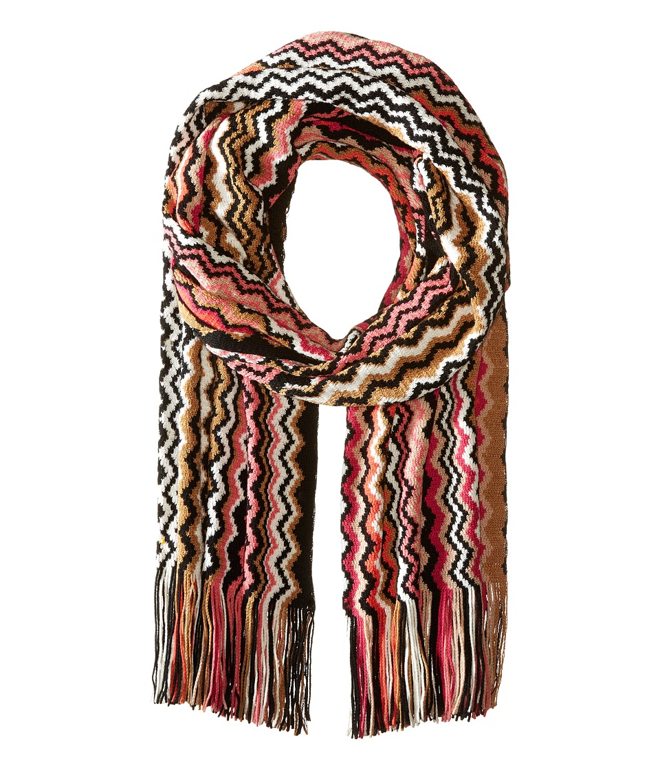 Missoni - SA57WMD55300 (Black/Pink) Scarves