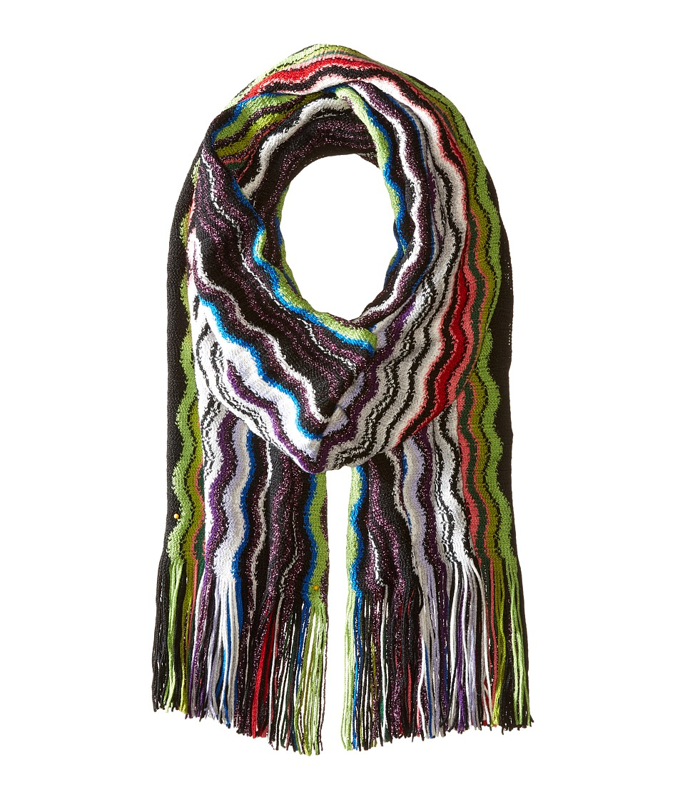 Missoni - SA57WMD56260 (Pink/Green) Scarves