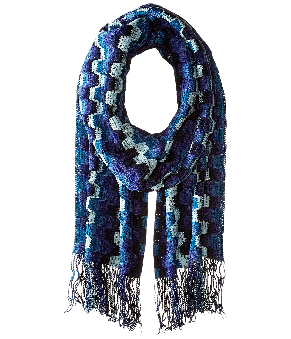 Missoni - SC35WMD57900 (Blue) Scarves