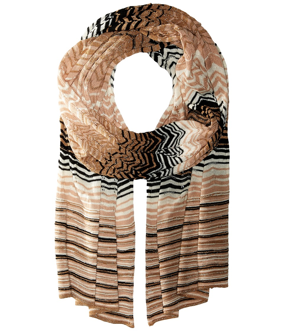 Missoni - SC36PSD56180 (Nude/Black) Scarves
