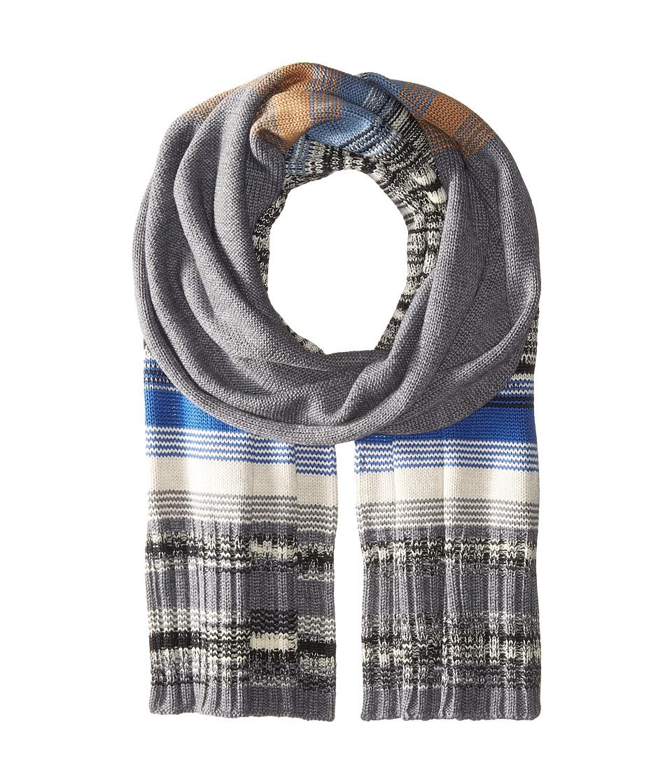 Missoni - SC15WMU57410 (Grey/Blue) Scarves