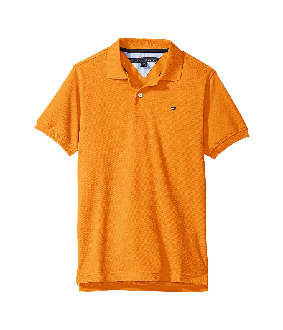 Tommy Hilfiger Kids - Ivy Polo (Big Kids) (Russett Orange) Boy's Clothing