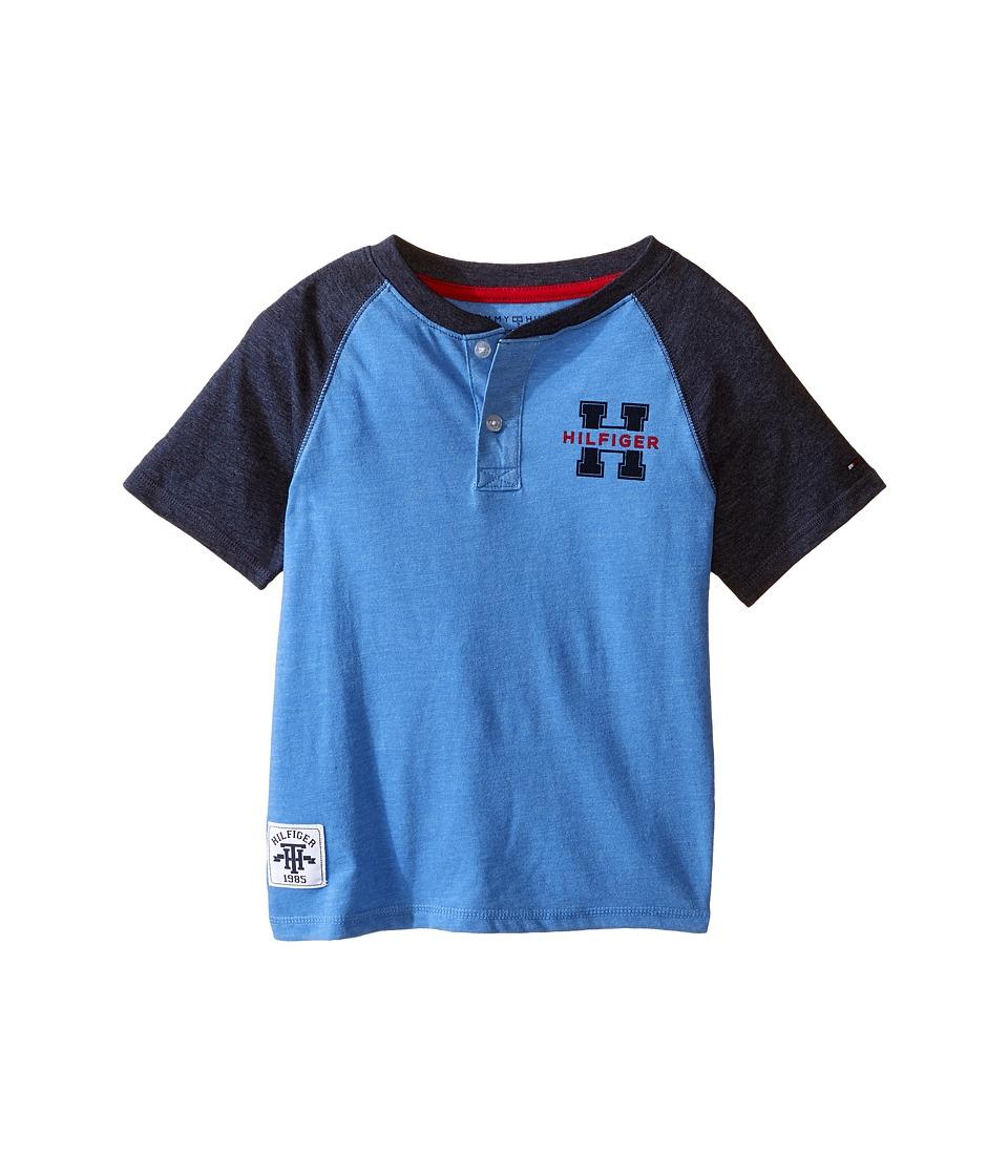Tommy Hilfiger Kids - Carter Henley (Toddler/Little Kids) (English Blue) Boy's Clothing
