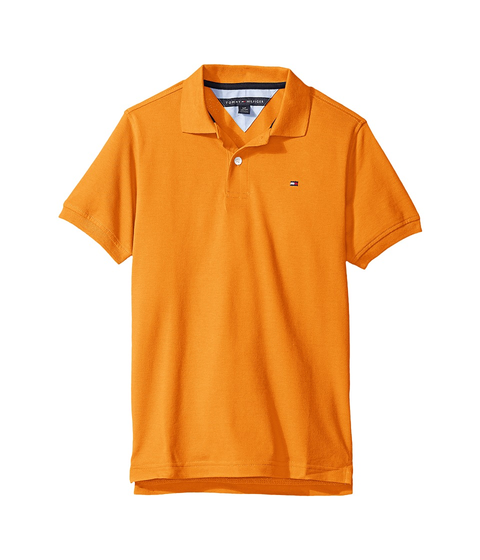 Tommy Hilfiger Kids - Ivy Polo (Toddler/Little Kids) (Russett Orange) Boy's Clothing