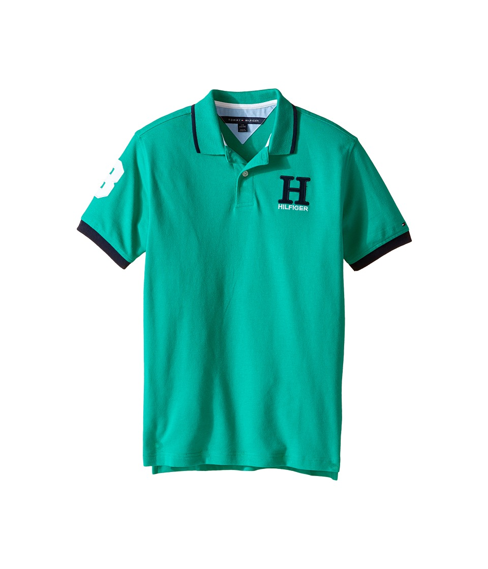 Tommy Hilfiger Kids - Matt Polo (Big Kids) (Rio Green) Boy's Clothing
