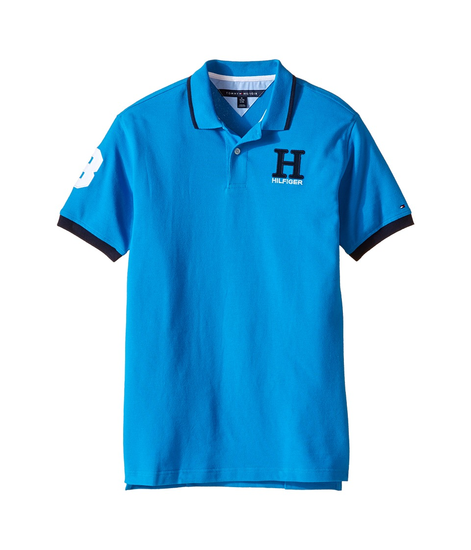 Tommy Hilfiger Kids - Matt Polo (Big Kids) (Forza Blue) Boy's Clothing