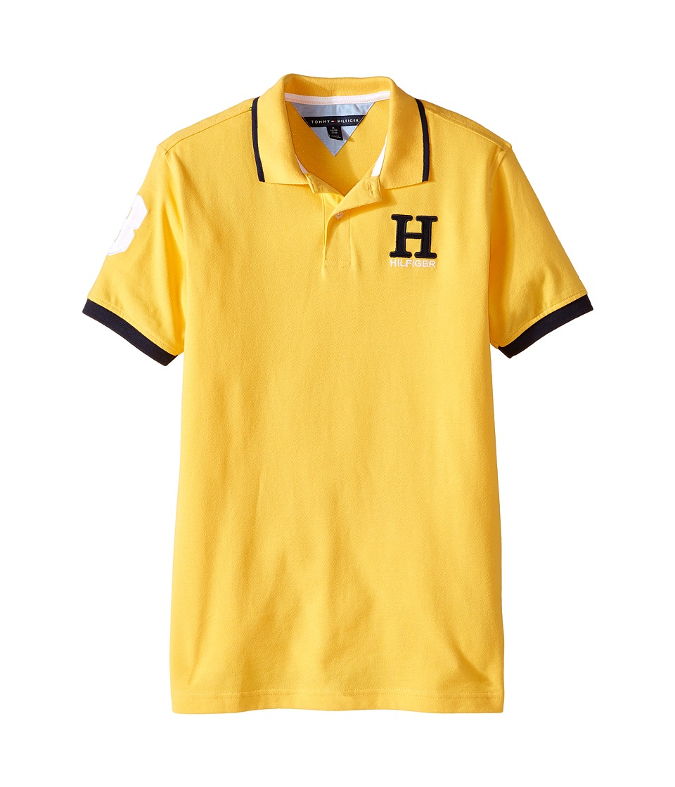 Tommy Hilfiger Kids - Matt Polo (Big Kids) (Fleetwood Yellow) Boy's Clothing