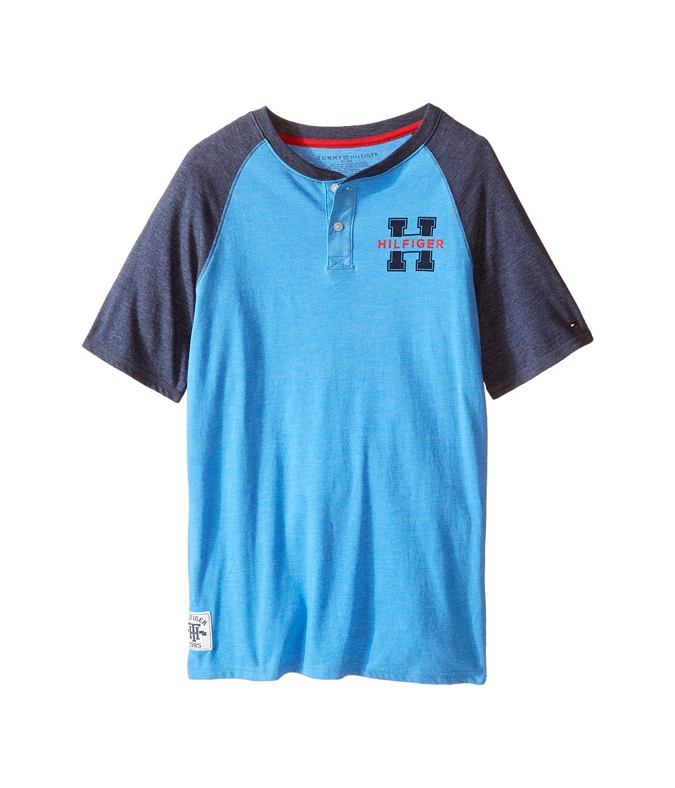 Tommy Hilfiger Kids - Carter Henley (Big Kids) (English Blue) Boy's Clothing