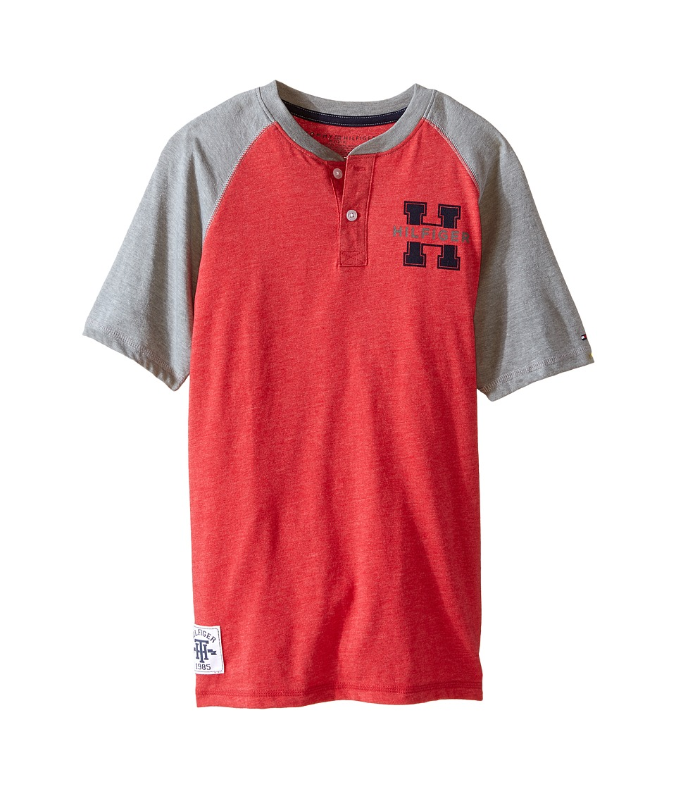 Tommy Hilfiger Kids - Carter Henley (Big Kids) (Apple Red) Boy's Clothing