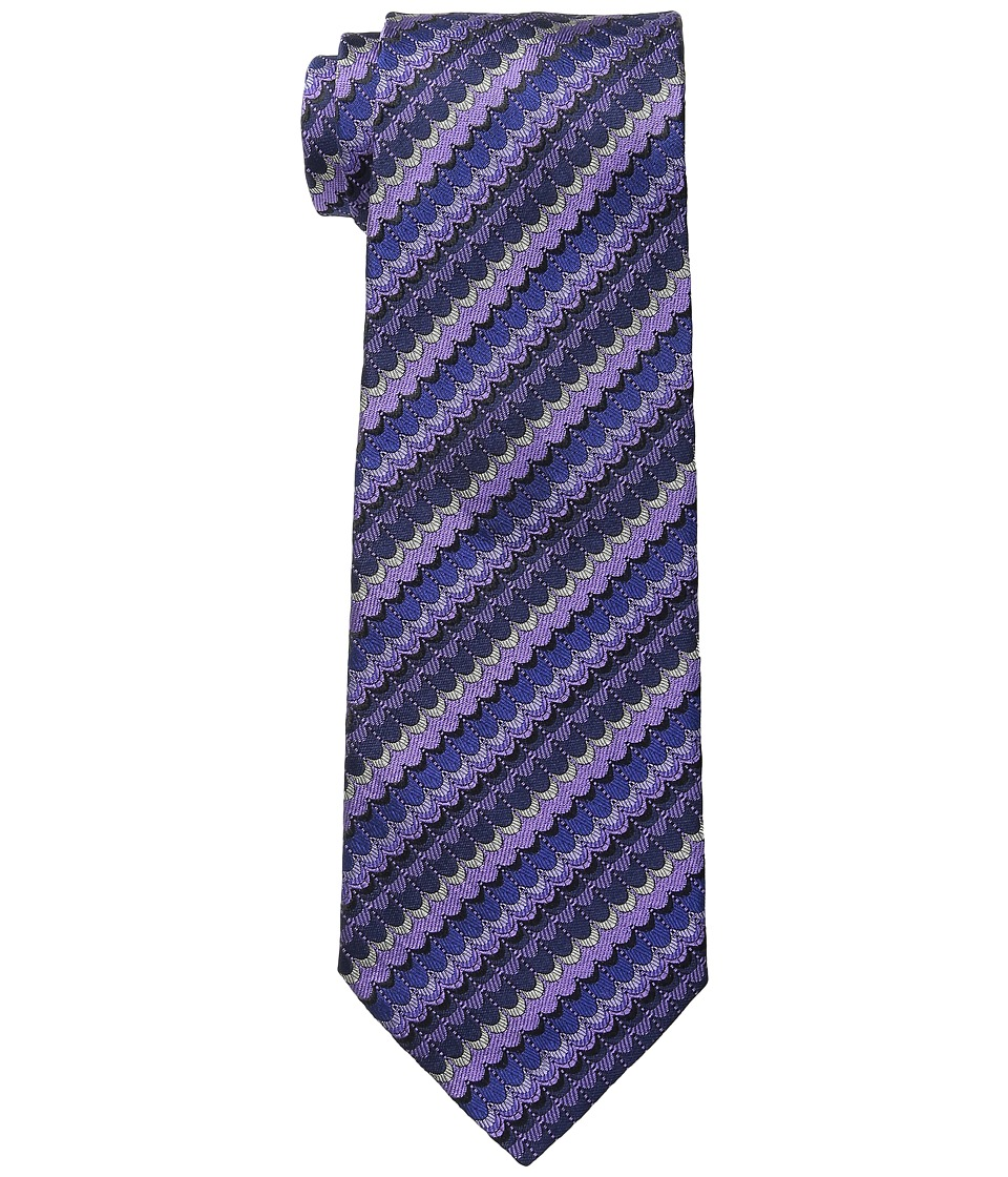 Missoni - CR8ASEU55030 (Purple) Ties