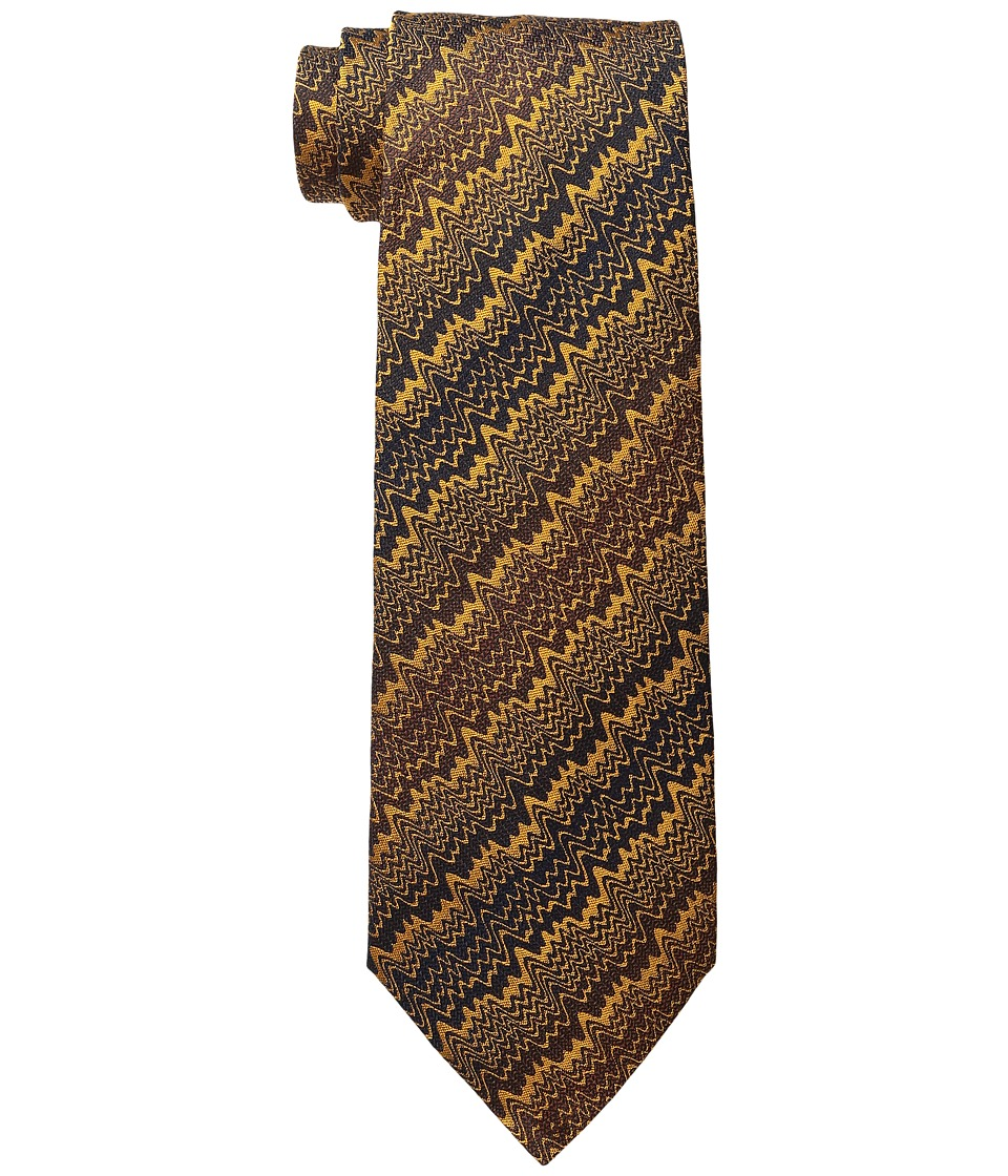 Missoni - CR8ASEU54870 (Mustard) Ties