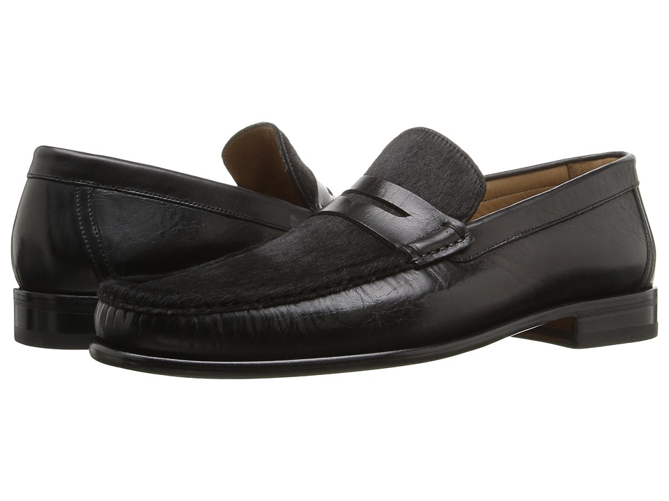 Bruno Magli - Bricco (Blk/Blk Hair) Men's Shoes