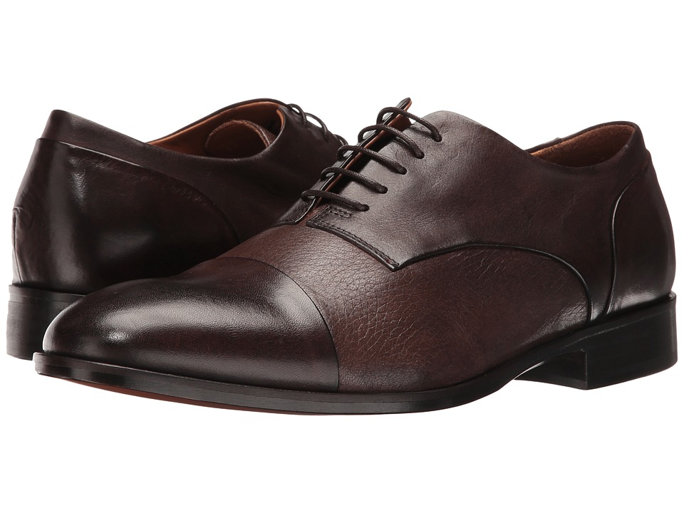 Bruno Magli Cesare (Dark Brown Leather) Men