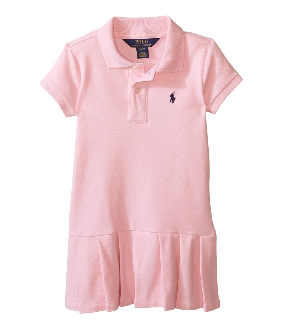 Polo Ralph Lauren Kids - Stretch Mesh Polo Dress (Toddler) (Resort Pink) Girl's Dress
