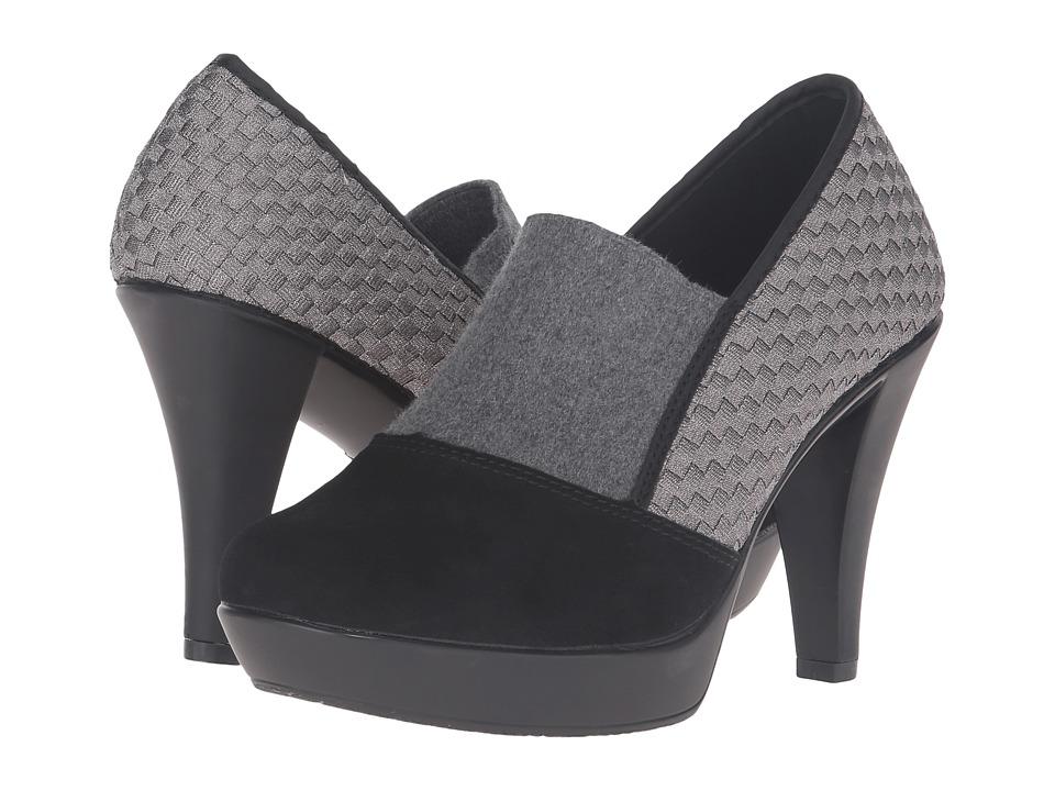 bernie mev. - Fiesta (Gunmetal/Black Suede) High Heels
