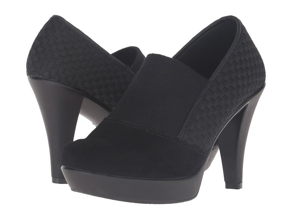bernie mev. - Fiesta (Black/Black Suede) High Heels