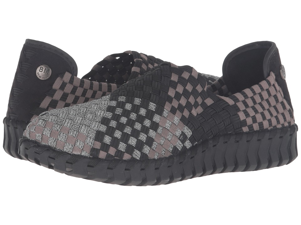 bernie mev. - Tread Candy (Pewter Combo) Women's Flat Shoes