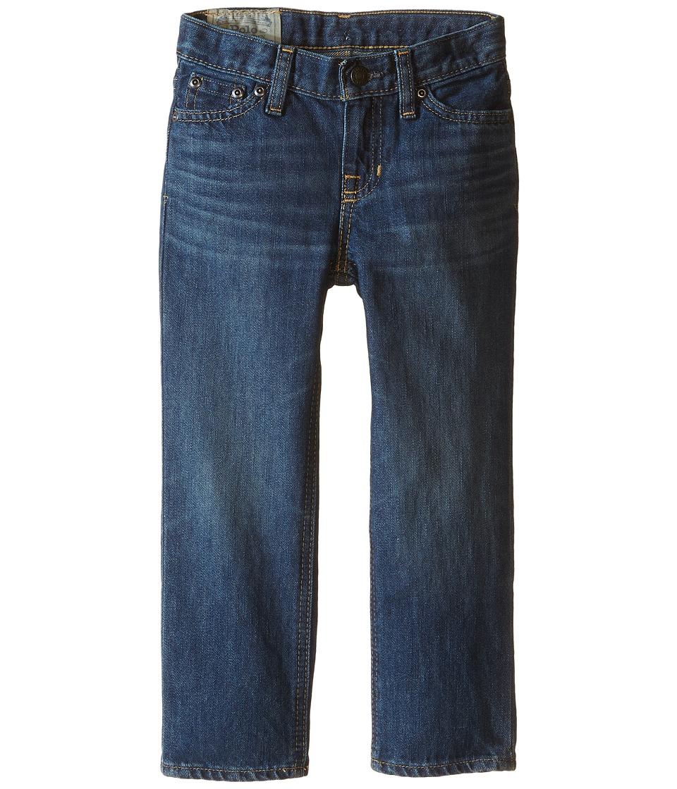 Polo Ralph Lauren Kids - Slim Fit Jeans (Toddler) (Bank Wash) Boy's Jeans