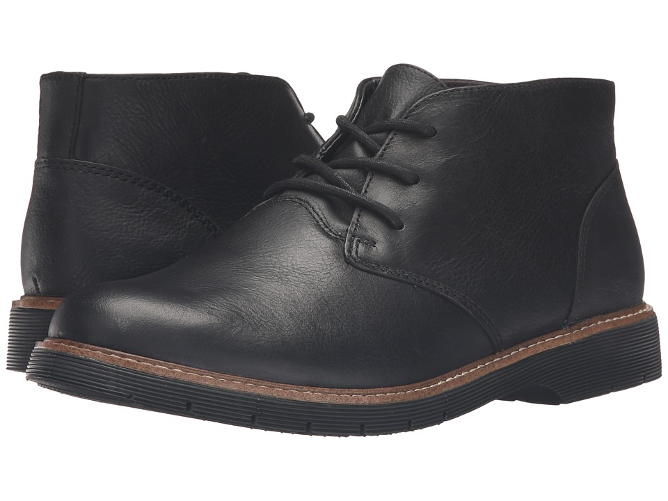 Dr. Scholl's - Rhys (Black Leather) Men's Shoes