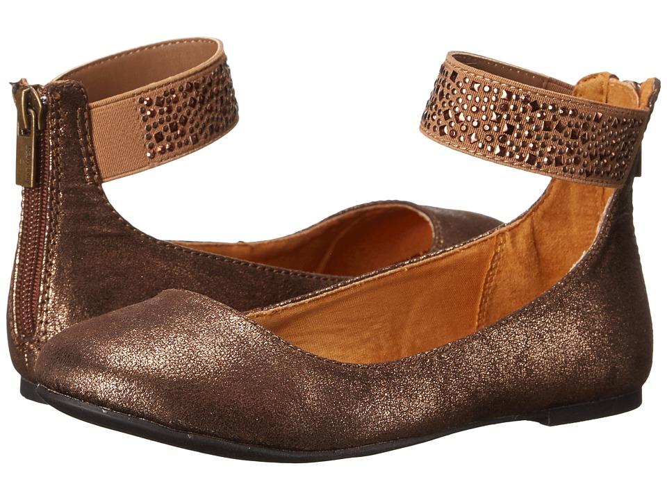 Nine West Kids - Faye (Little Kid/Big Kid) (Bronze Metallic) Girls Shoes