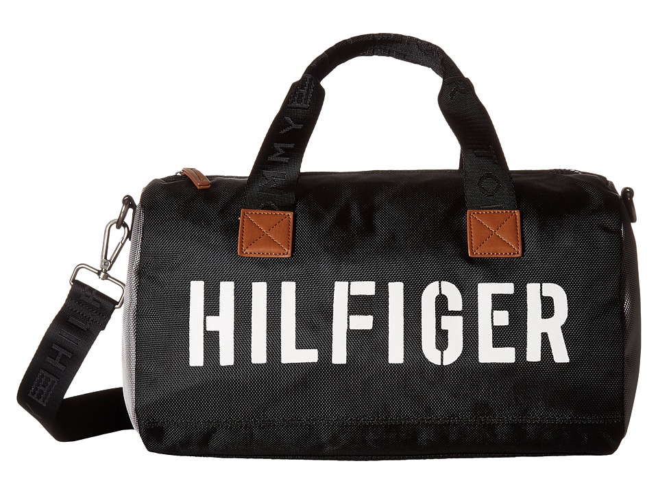 Tommy Hilfiger - Hilfiger Color Block - Mini Duffel (Black/Gray) Duffel Bags