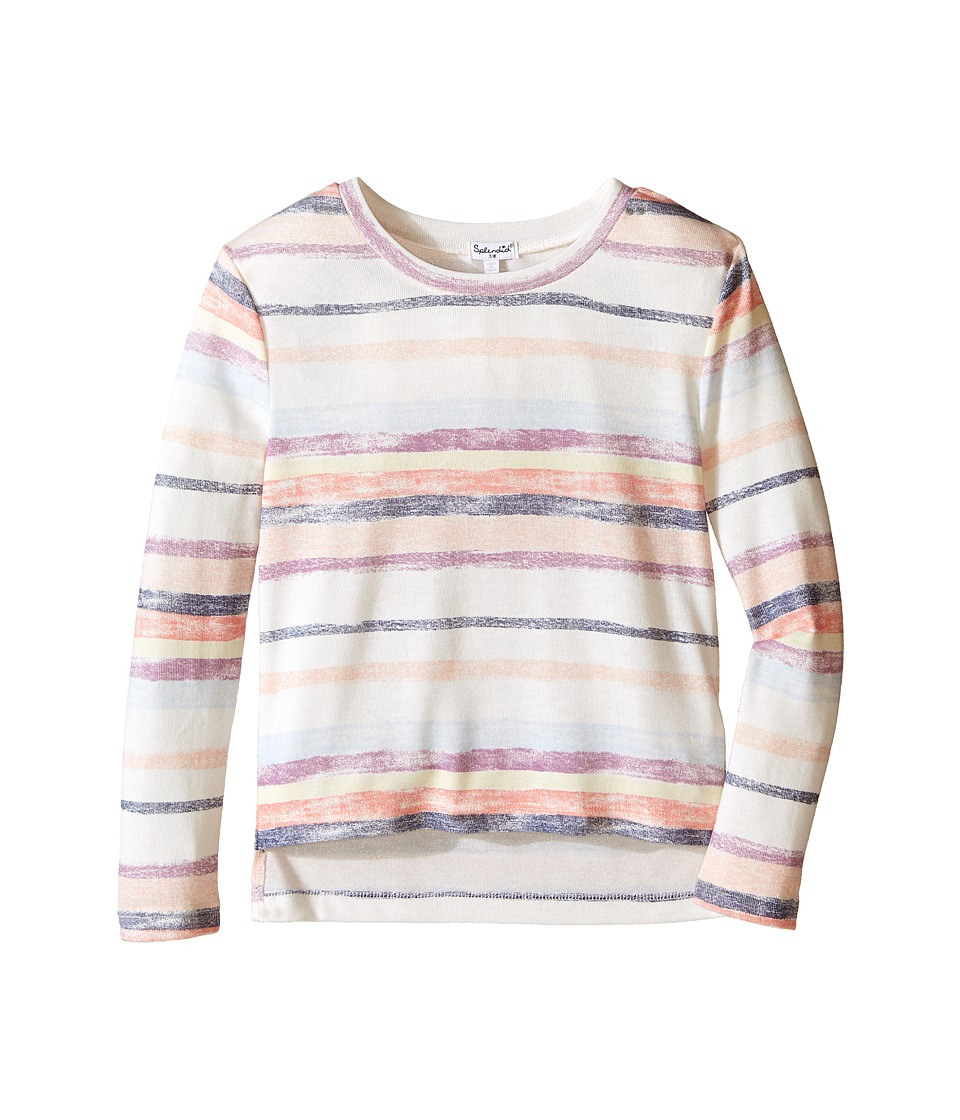 Splendid Littles - Chalk Stripe Sweater (Big Kids) (Stripe) Girl's Sweater