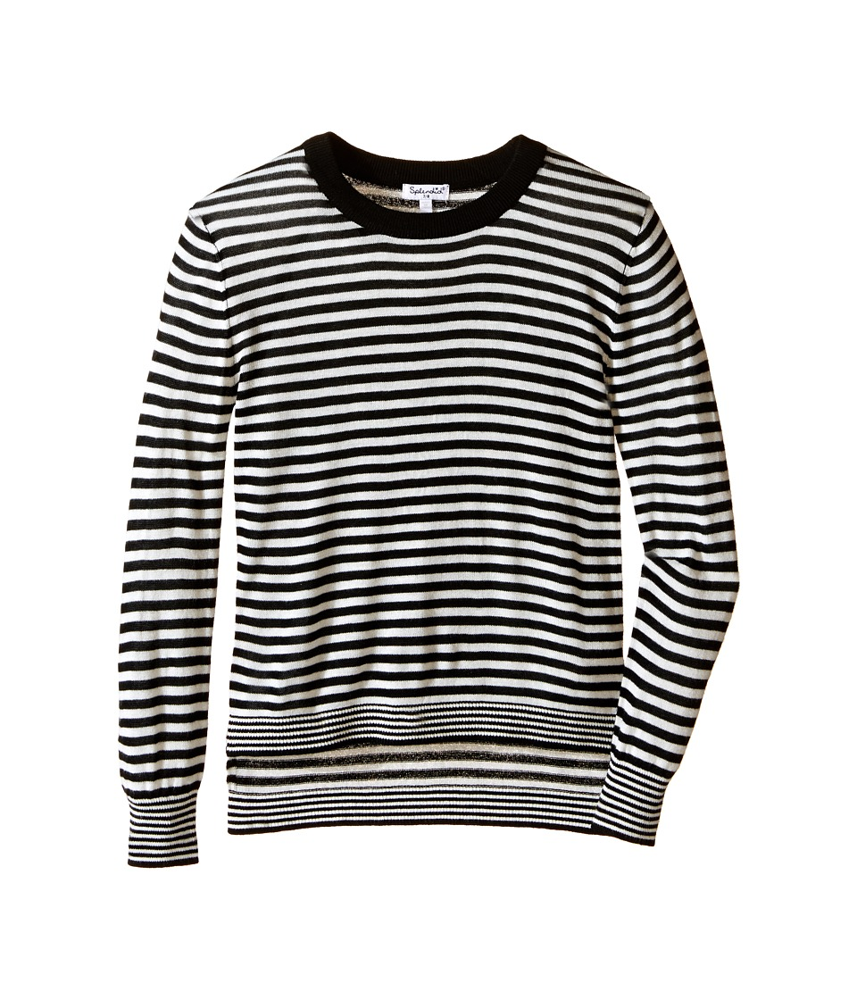 Splendid Littles - Yarn-Dye Loose Knit Sweater (Big Kids) (Stripe) Girl's Sweater