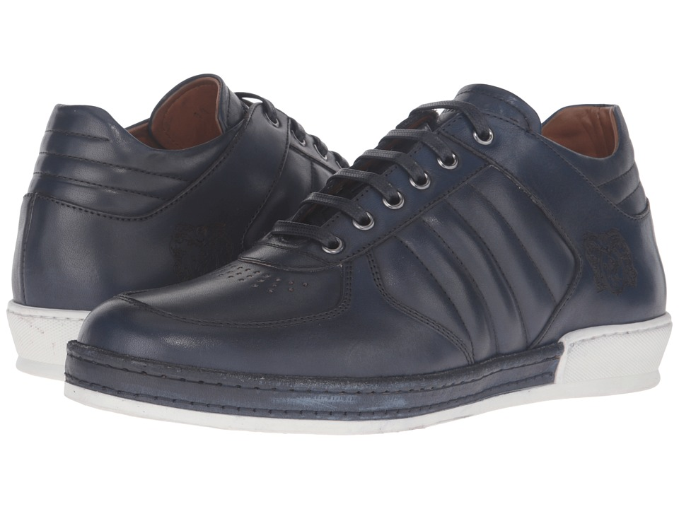 Bruno Magli - Santo (Blue) Men's Shoes
