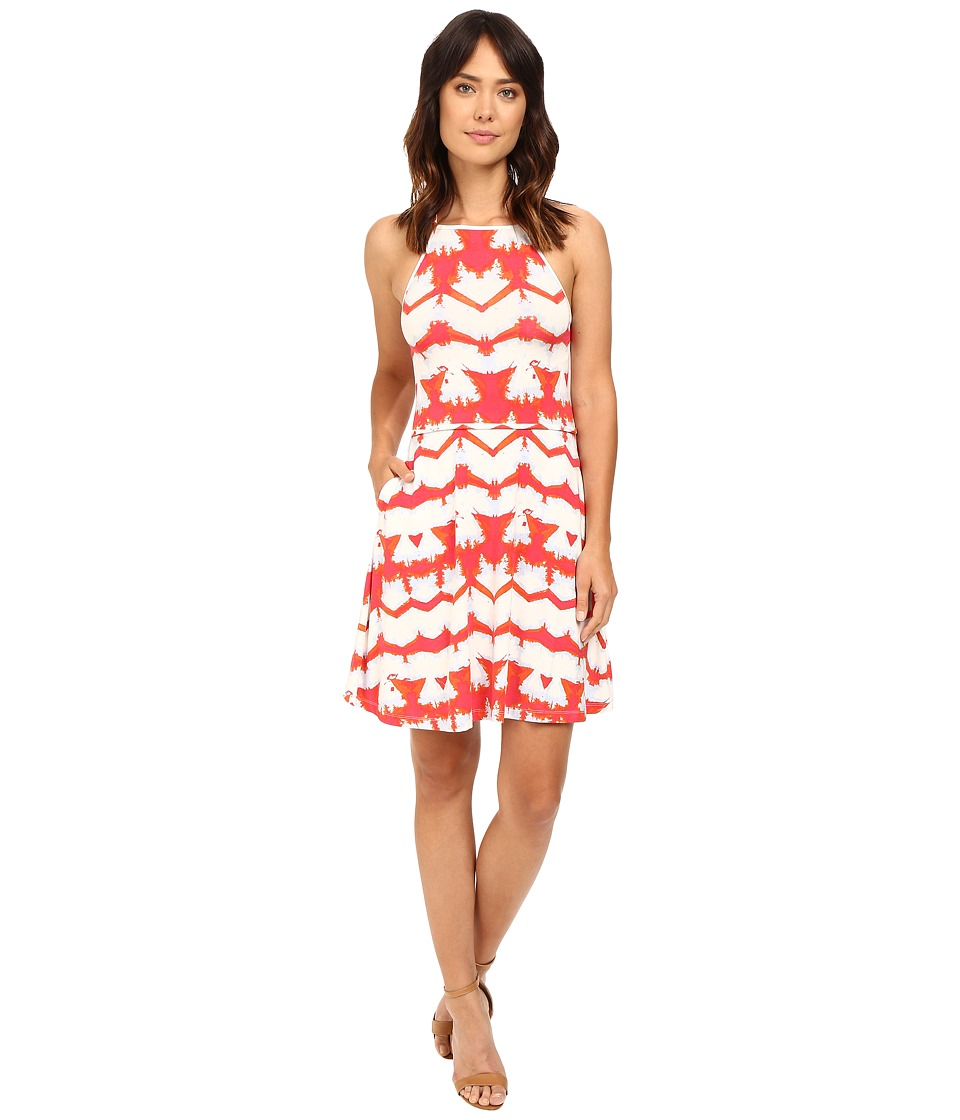 Tart - Oasis Dress (Multi Tie-Dye Stripe) Women's Dress