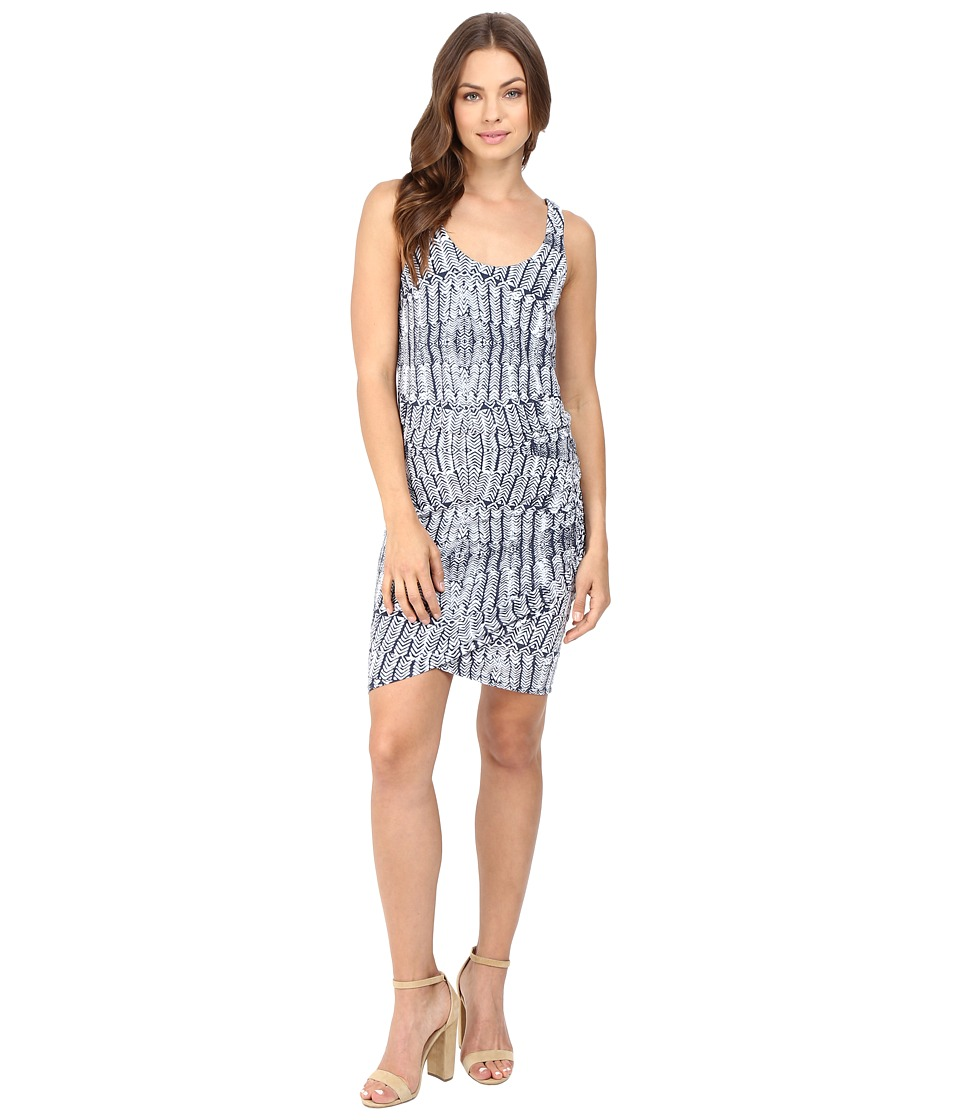 Tart - Jan Dress (Stamped Feathers) Women's Dress