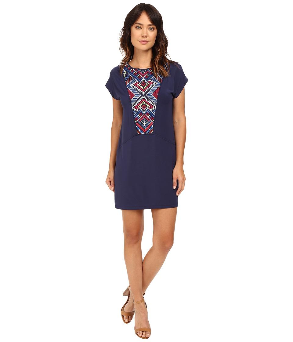 Tart Melinda Dress (Peacoat Aztec Embroidery) Women