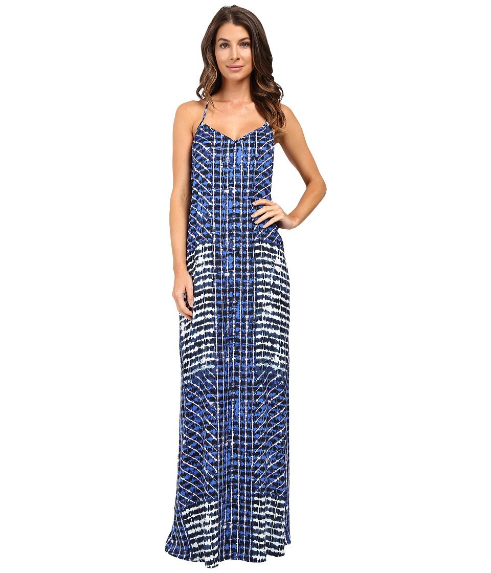 Tart Pamela Maxi Placed Shibori Dress