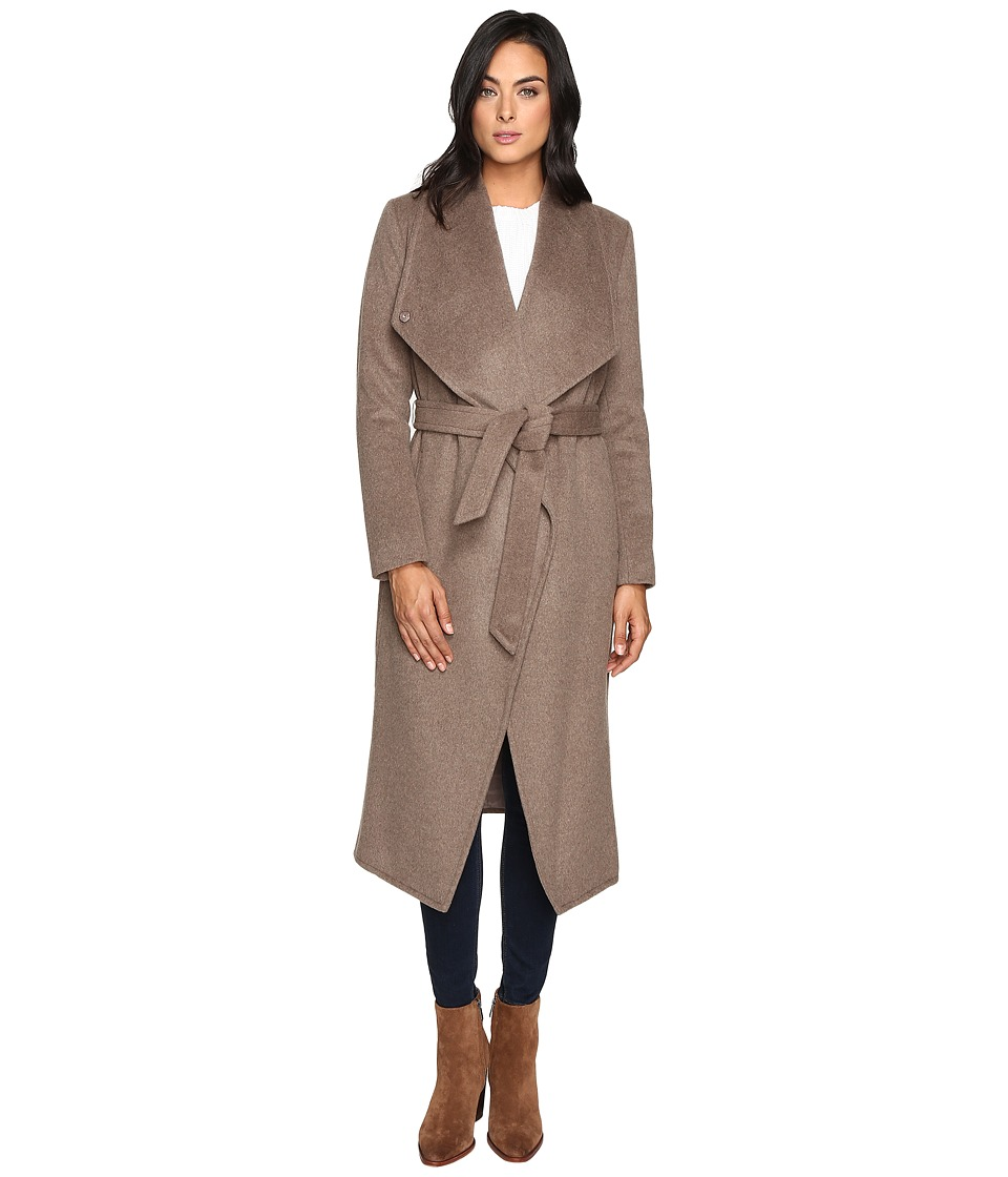 Cole Haan - Signature 46 Draped Front Wrap Coat (Portobello) Women's Coat
