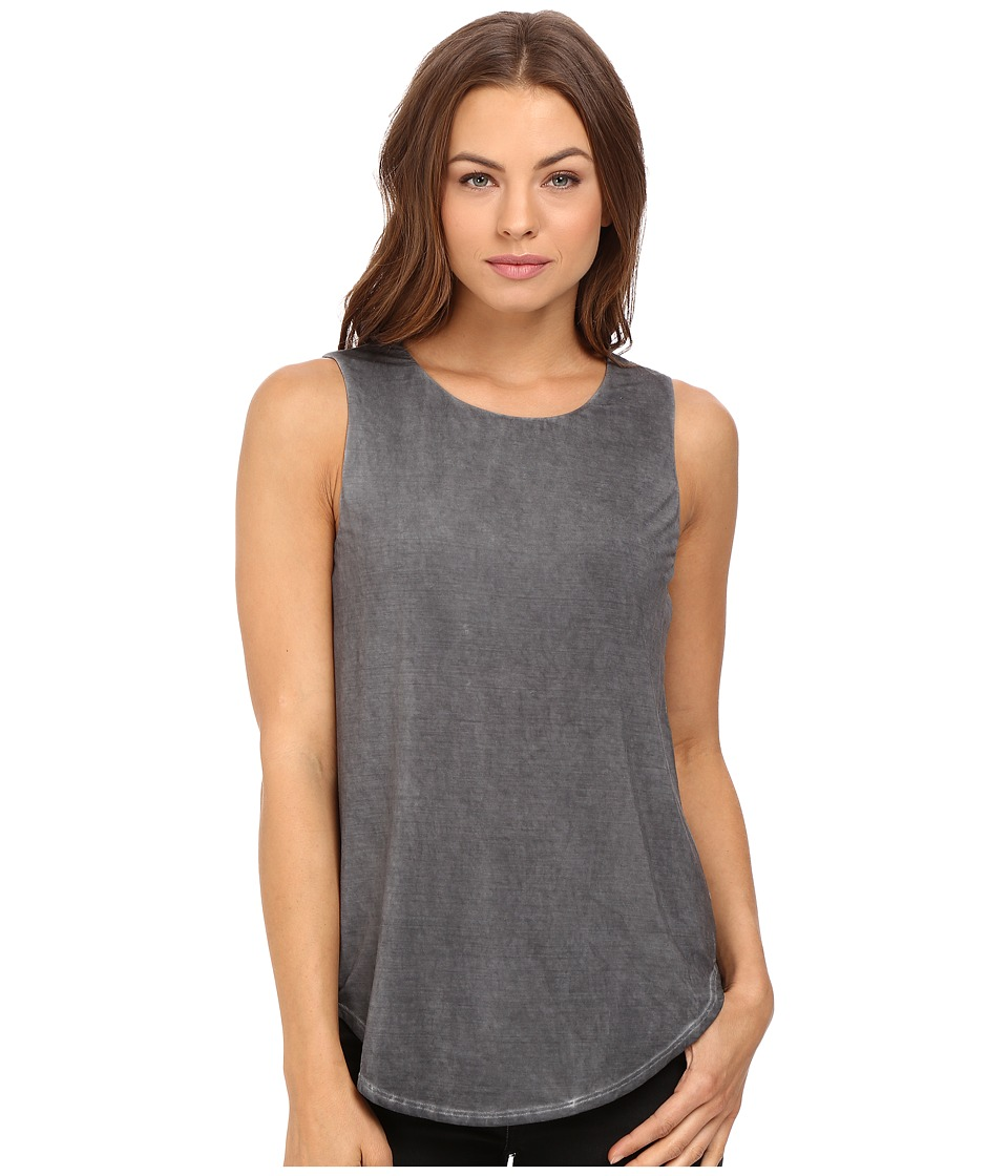 Tart - Louise Tank Top (Black Garment Dye) Women's Sleeveless