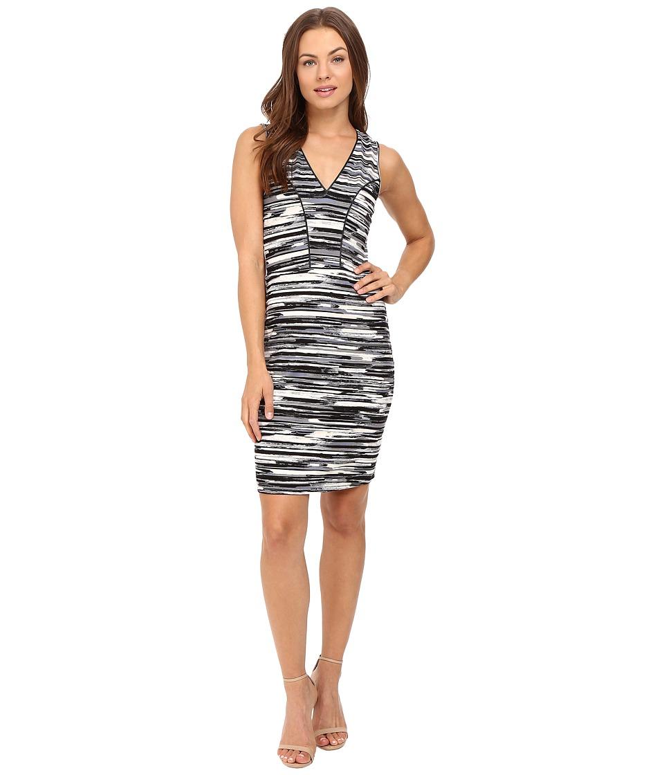 Tart Viera Dress (Linear Brush Strokes) Women