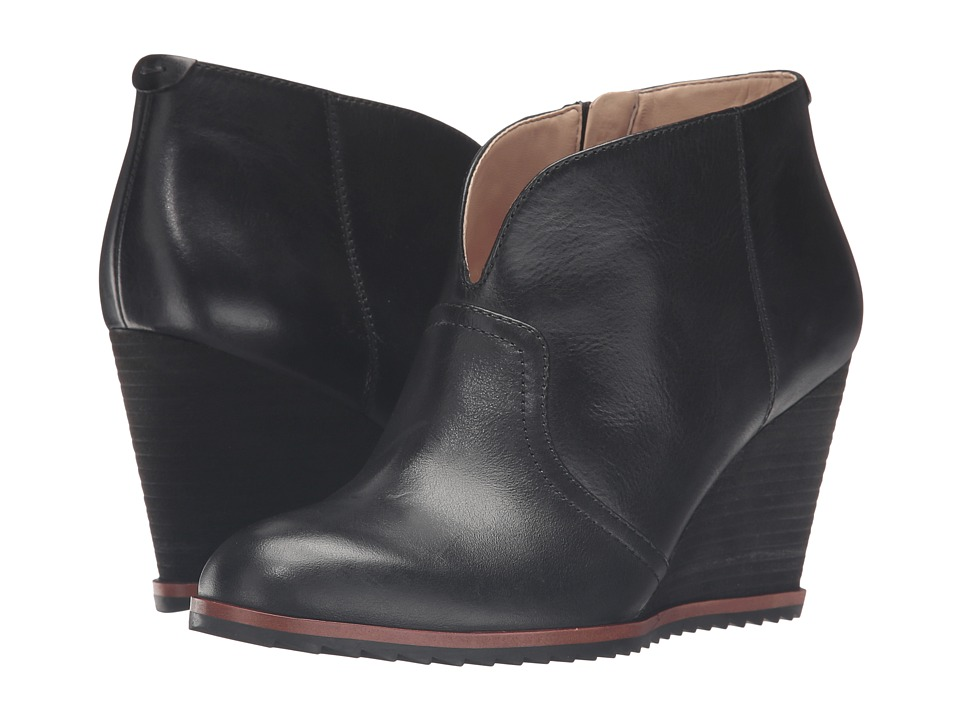 Dr. Scholl's - Inda - Original Collection (Black Leather) Women's Shoes
