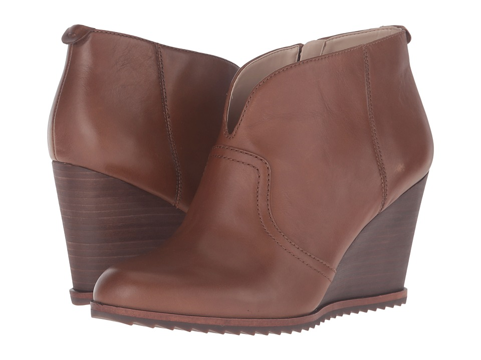 Dr. Scholl's - Inda - Original Collection (Rustic Tan Leather) Women's Shoes