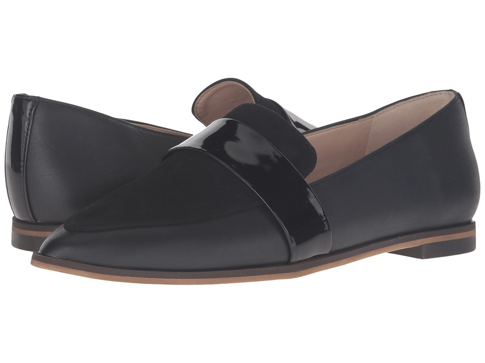 Dr. Scholl's - Ashah - Original Collection (Black Leather/Suede) Women's Shoes