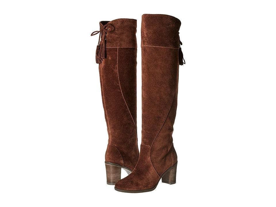 Dr. Scholl's - Lydia - Original Collection (Cognac Suede) Women's Shoes