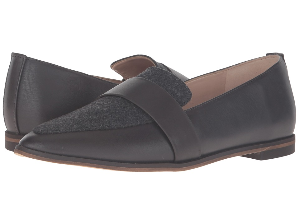 Dr. Scholl's - Ashah - Original Collection (Charcoal Leather/Wool) Women's Shoes