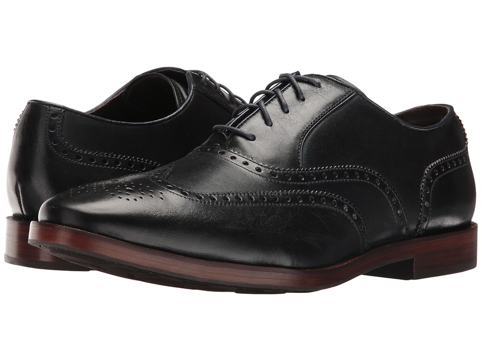 Cole Haan Hamilton Grand Wing Oxford (Navy) Men