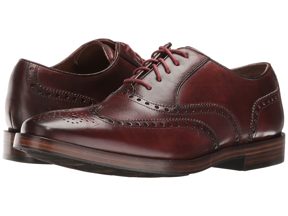 Cole Haan - Hamilton Grand Wing Oxford (Cordovan) Men's Lace up casual Shoes