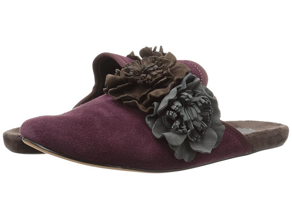 Daniel Green - Lilah (Burgundy) Women's Slippers