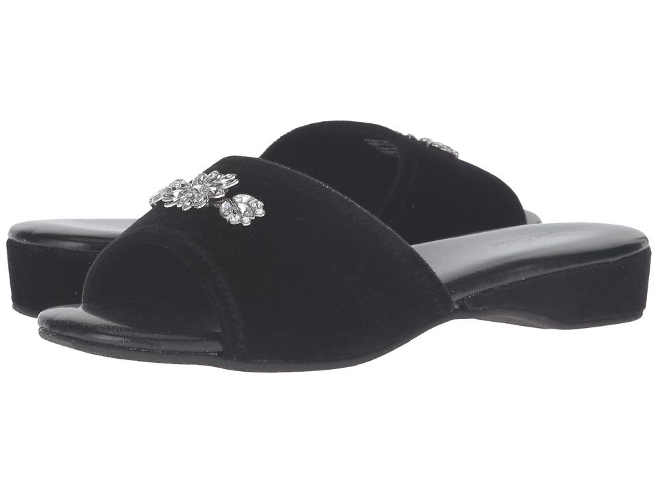 Daniel Green - Marta (Black) Women's Slippers