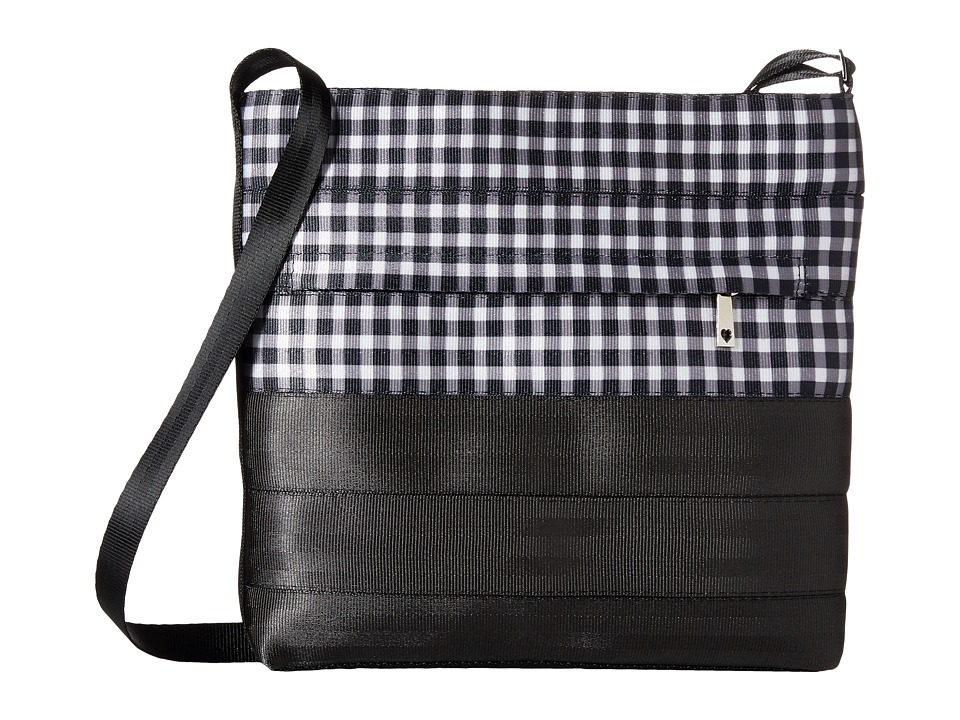 Harveys Seatbelt Bag - Streamline Crossbody (Gingham) Cross Body Handbags
